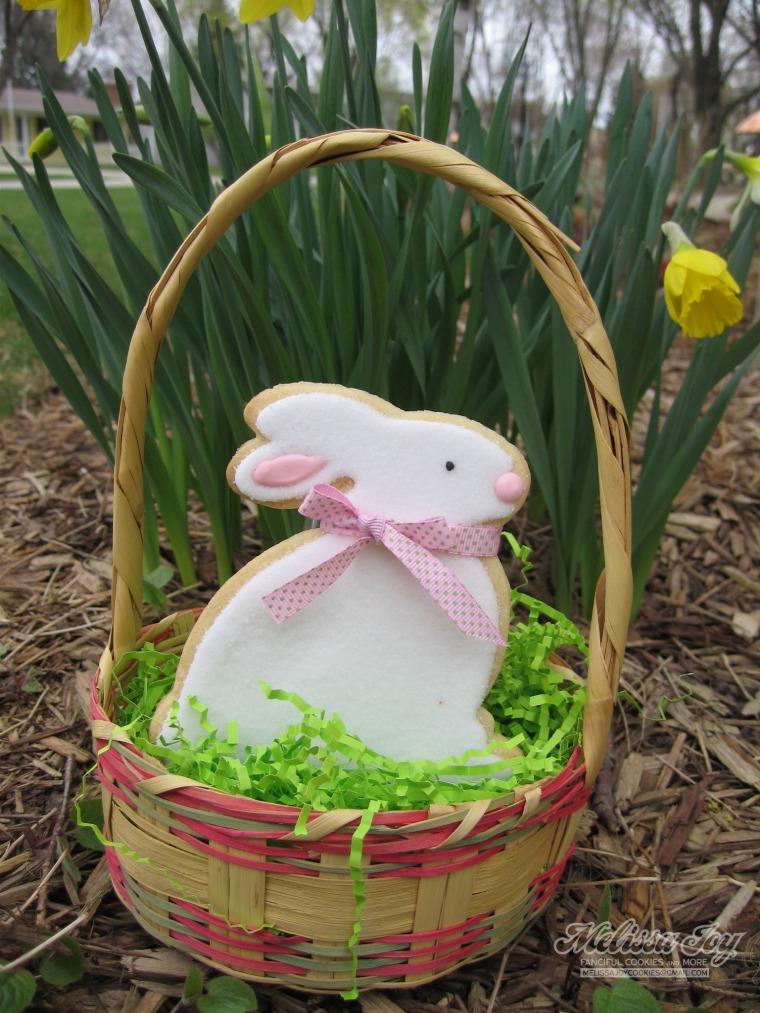 big bunny with ribbon