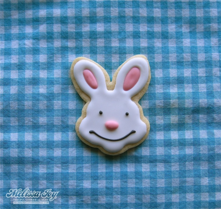 bunny face by melissa joy cookies