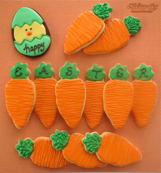 Happy Easter Carrots 2