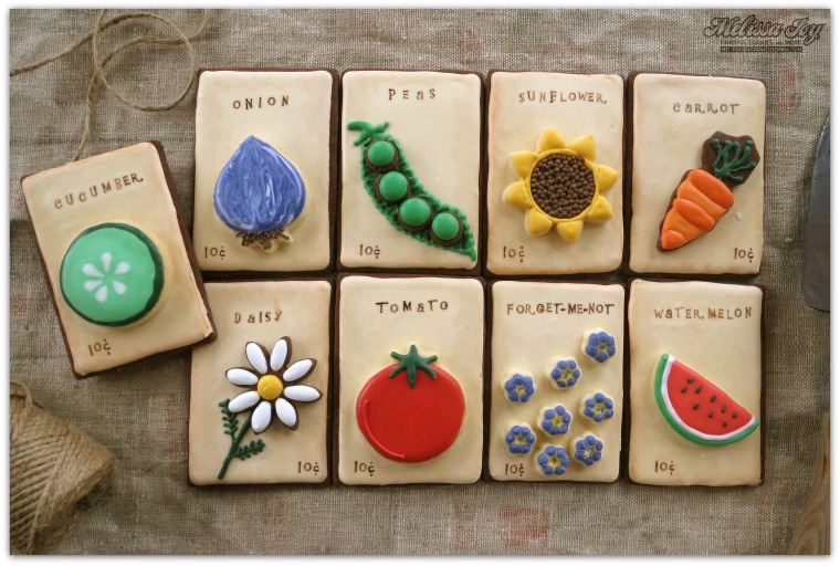 Chocolate Seed Packets
