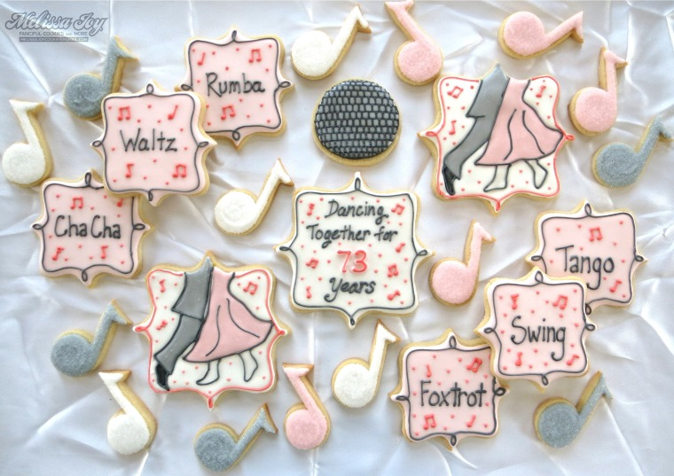 Nana & Willie's Anniversary Cookies