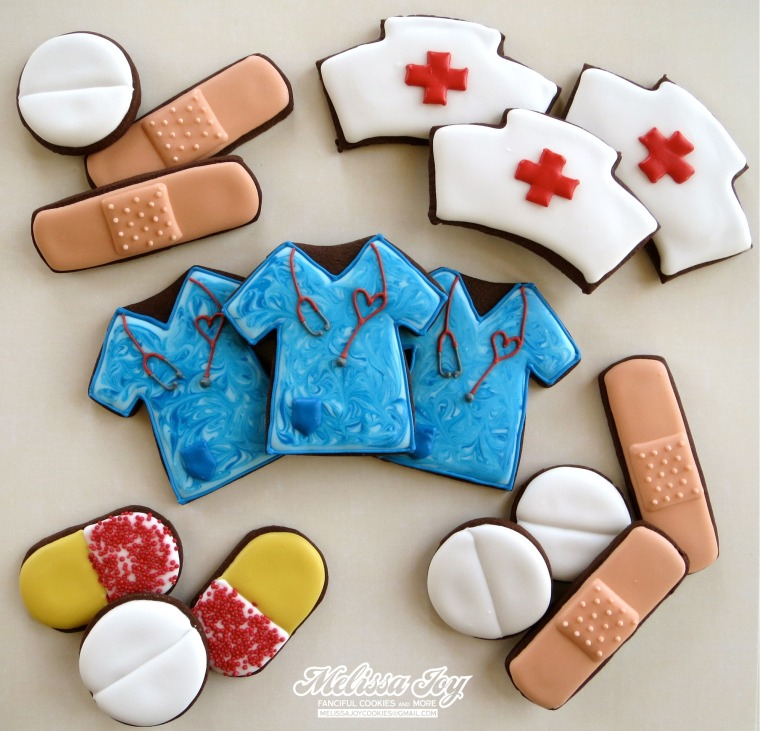 Nurses Day Cookies