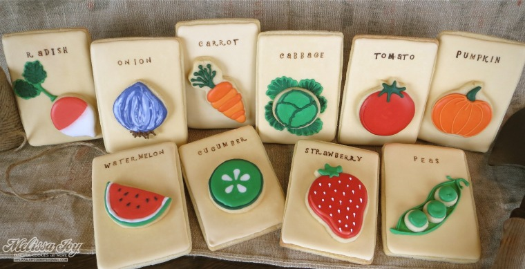 sugar cookie seed packets