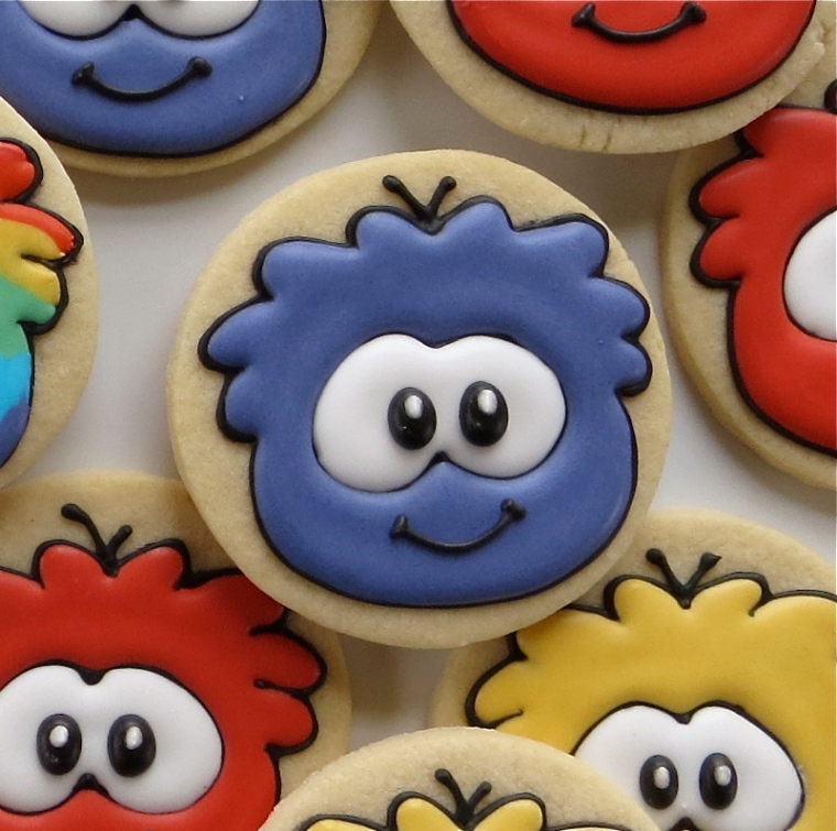 puffle cookies by melissa joy