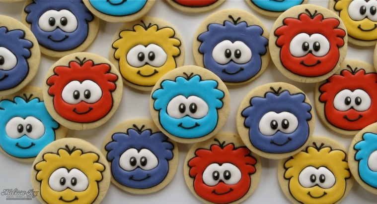 Puffle Cookies by Melissa Joy