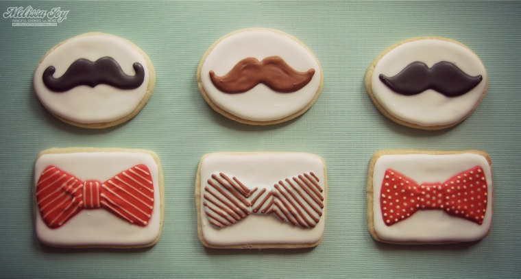 bow ties and mustaches