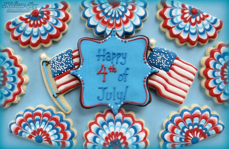 Happy 4th of July Cookies