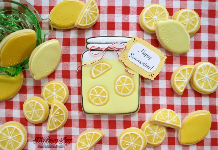 lemon & lemonade jar cookies