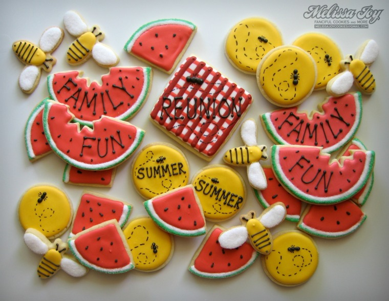 summer family reunion cookies