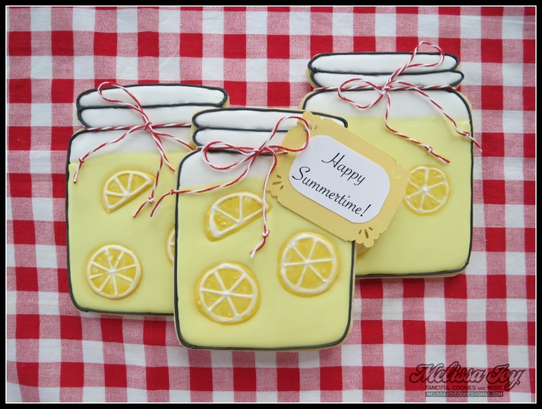 lemonade jar cookies