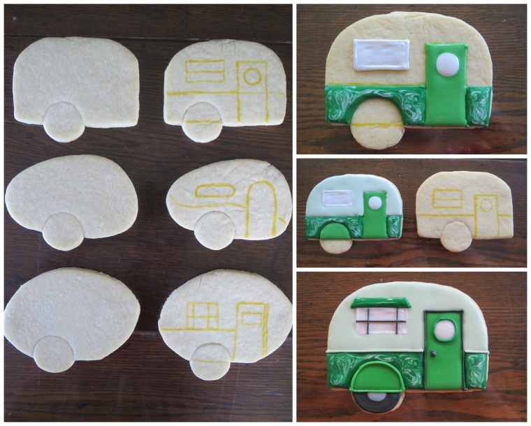 Camper how to by Melissa Joy Cookies