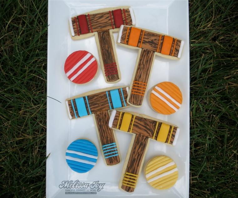 croquet cookies by melissa joy