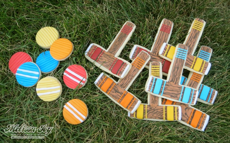 croquet cookies with fondant by melissa joy
