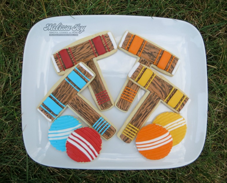 croquet cookies by melissa joy