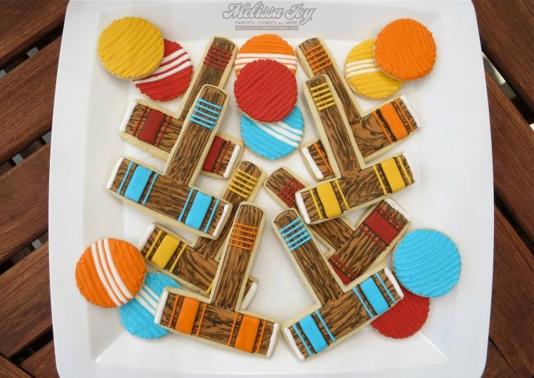 croquet set cookies by melissa joy