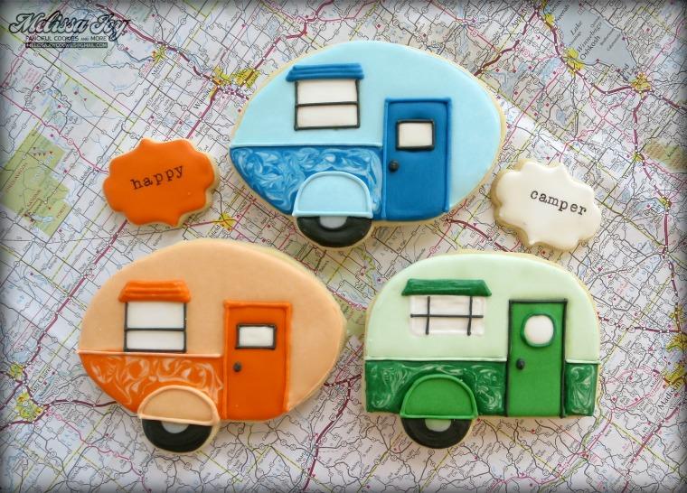 Happy Camper Cookies by Melissa Joy