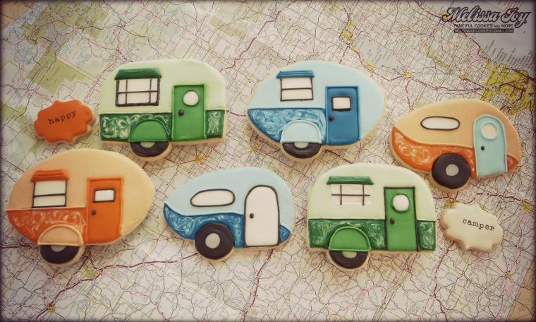 Camper cookies by Melissa Joy