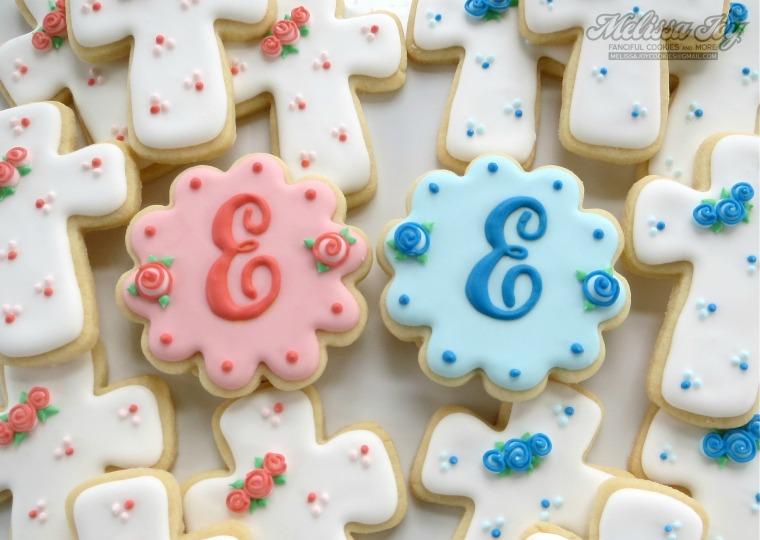 Easy Monogram Cookies by Melissa Joy