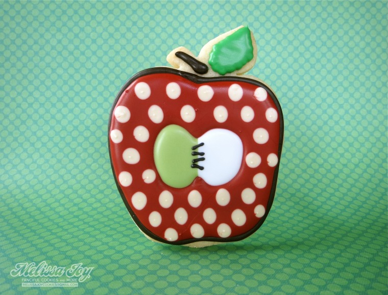 Apple Cookie by Melissa Joy