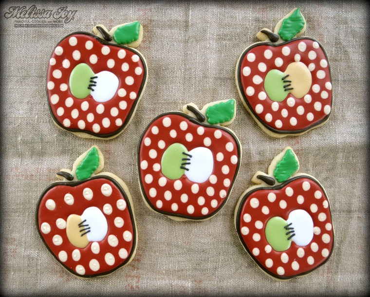 Apple Cookies by Melissa Joy