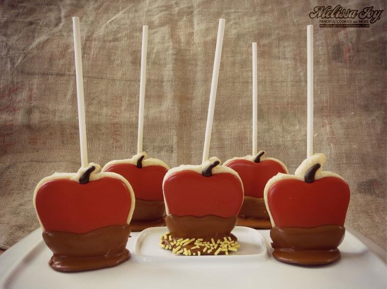 Caramel Apple Cookies by Melissa Joy