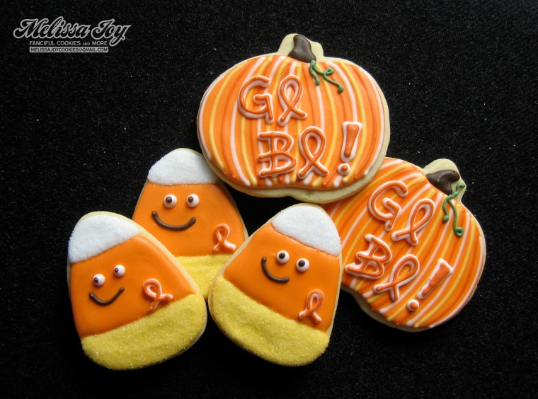 GO BO cookies by Melissa Joy