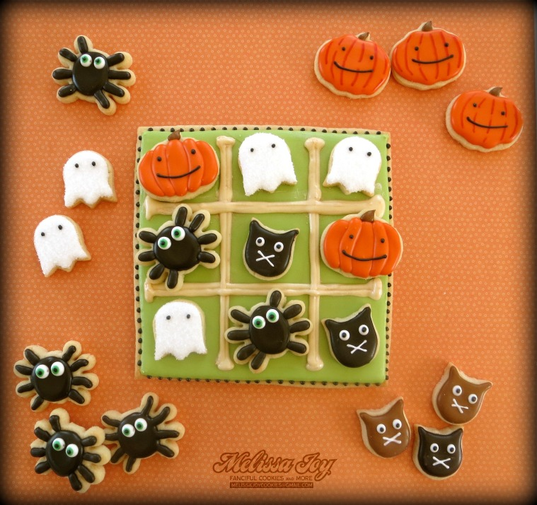 Halloween Cookie Tic Tac Toe by Melissa Joy