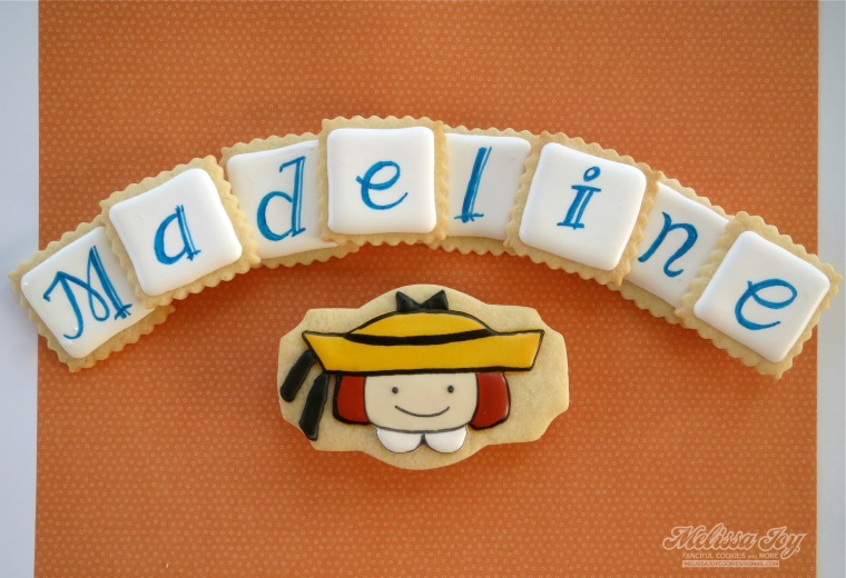 Madeline Cookies by Melissa Joy Cookies