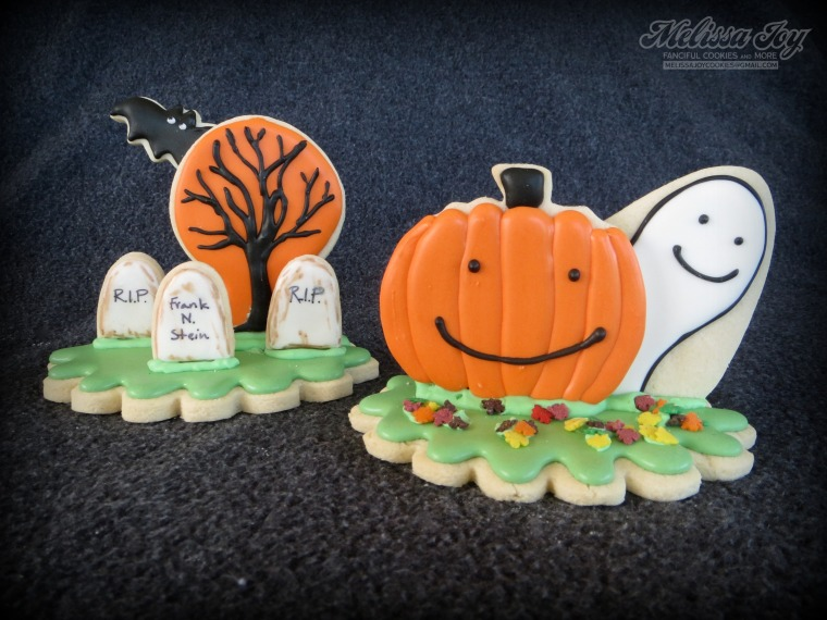Graveyard and Ghost Cookies by Melissa Joy