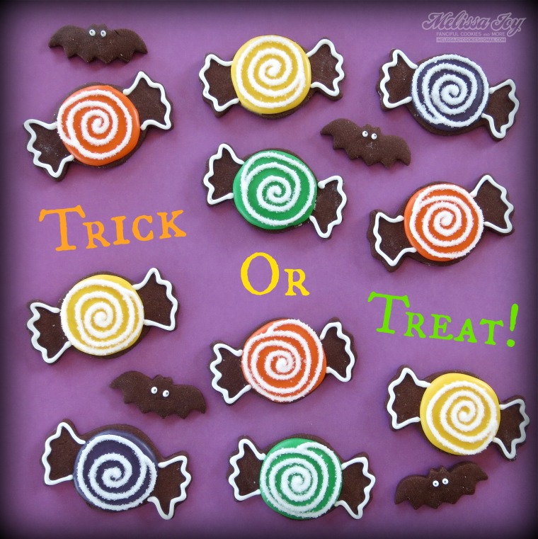 trick-or-treat candies by melissa joy cookies