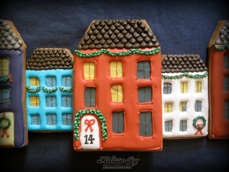 Gingerbread house #14 by Melissa Joy Cookies