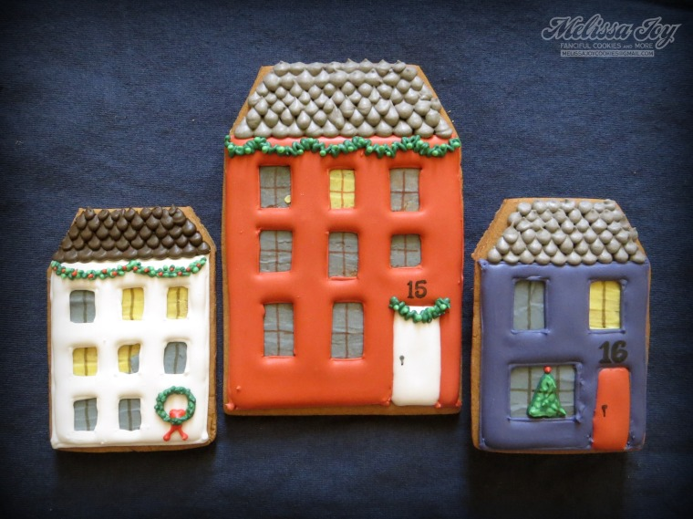 Gingerbread House #15 & #16 by Melissa Joy