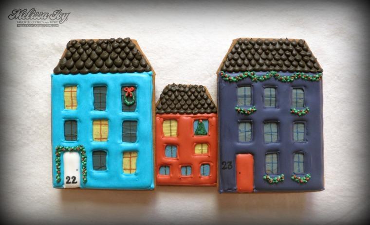 Gingerbread House #22 & #23 by Melissa Joy