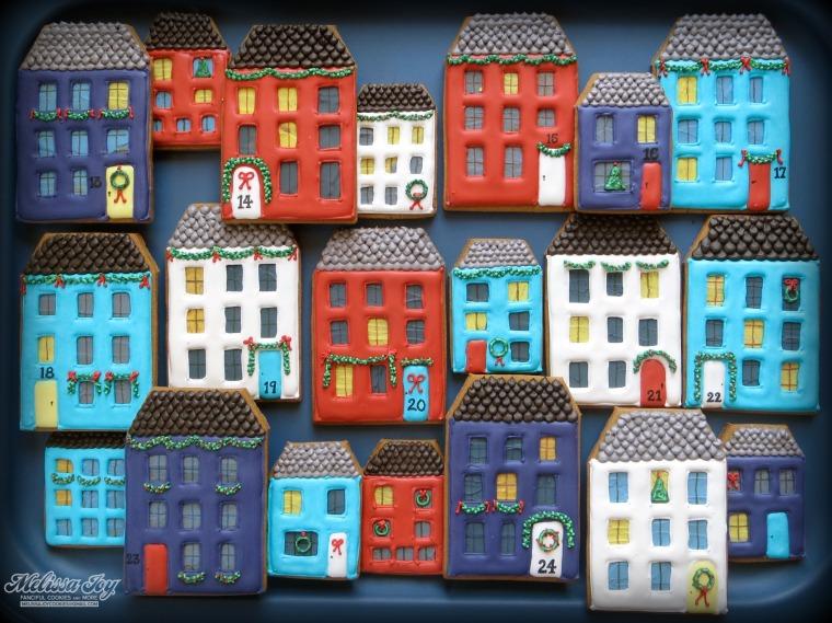 Gingerbread Houses by Melissa Joy Cookies