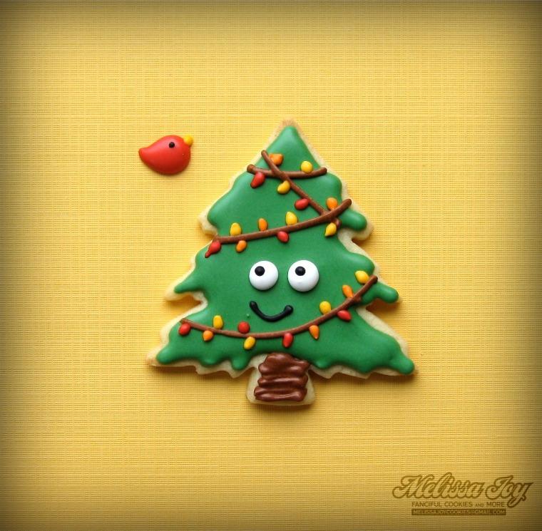 Bruce the Spruce Christmas Tree by Melissa Joy