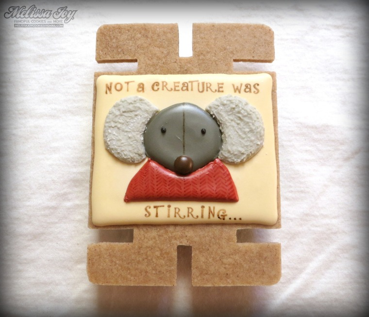 Card Mouse by Melissa Joy Cookies