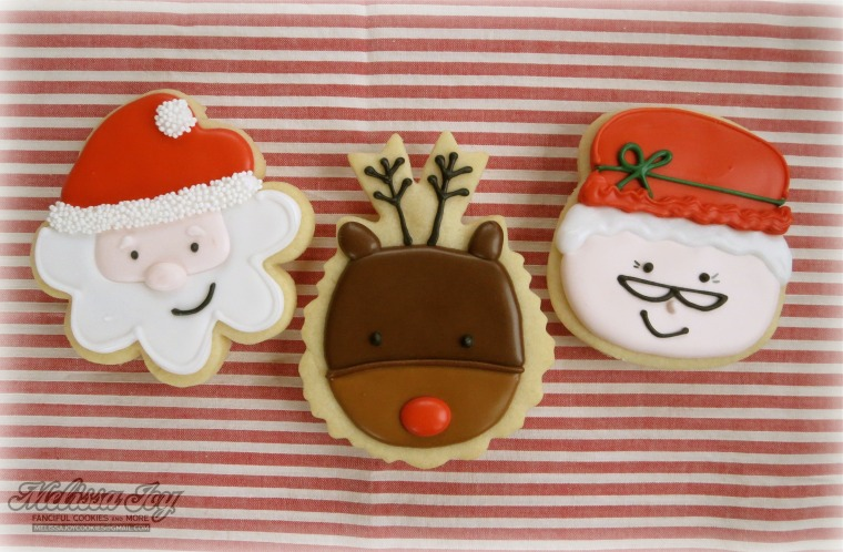 Chirstmas Cookies by Melissa Joy Cookies
