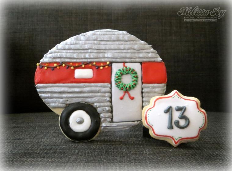 Christmas Camper Cookie by Melissa Joy