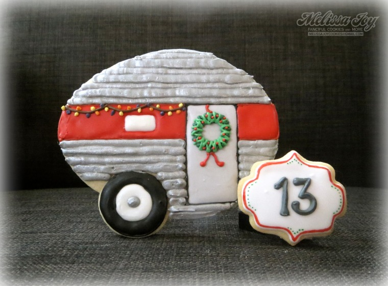 Christmas Camper Cookie by Melissa Joy