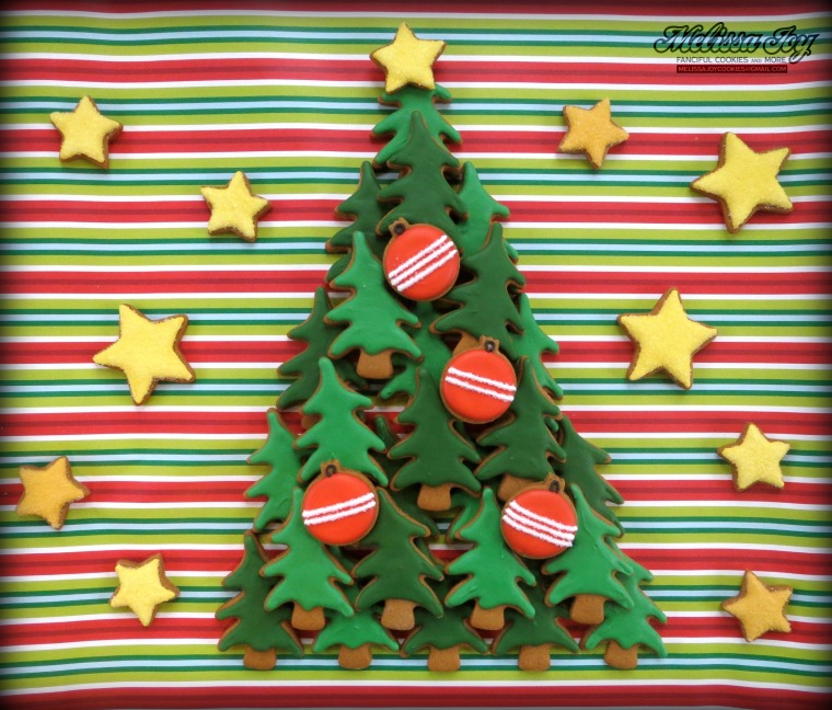 Christmas Tree Cookies by Melissa Joy