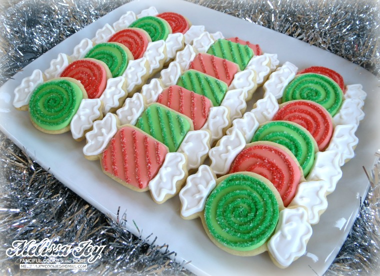 Grammy Green Christmas Candies
