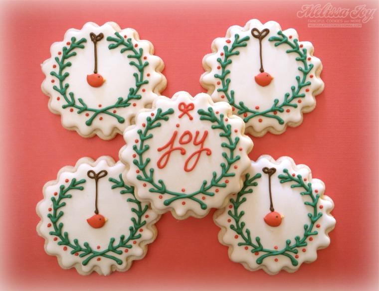 Joy and Bird Wreaths by Melissa Joy