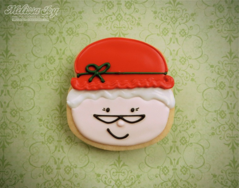 Mrs. Claus Cookie by Melissa Joy