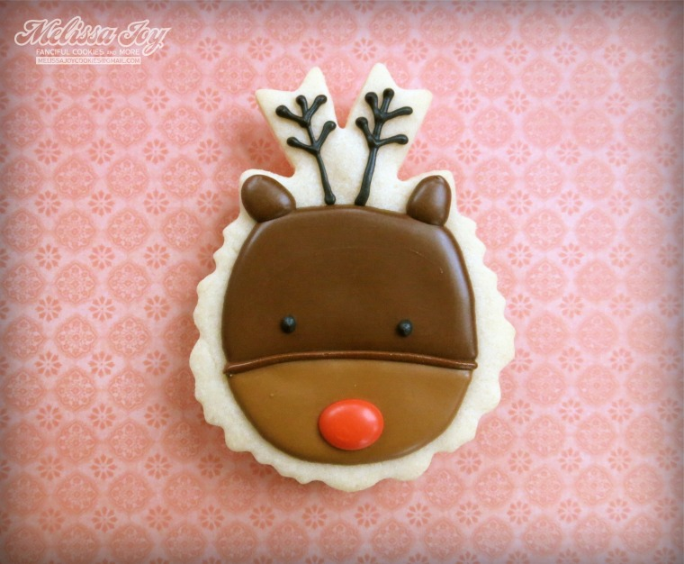 Reindeer Cookies by Melissa Joy Cookies