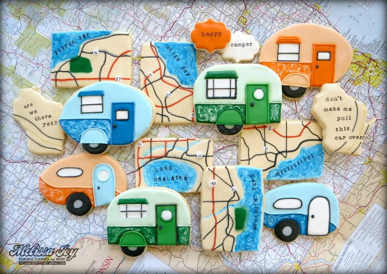 Road Trip Cookies by Melissa Joy