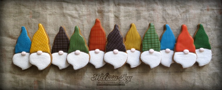Santa Gnome Cookies by Melissa Joy