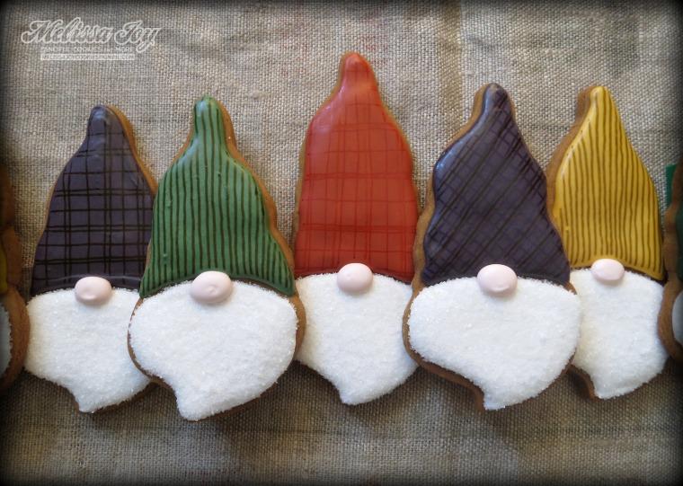 Santa Gnome Cookies Melissa Joy Cookies
