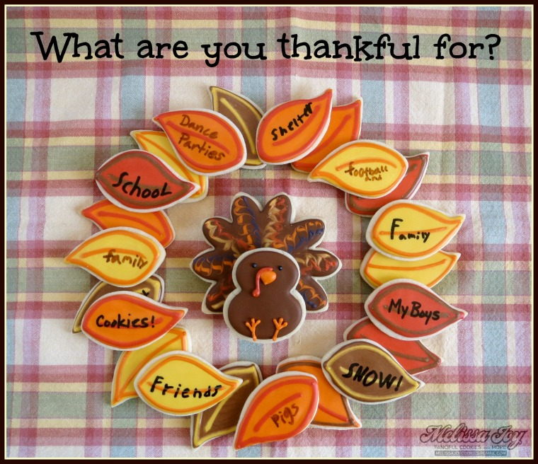 Thanksgiving Cookies for Kids by Melissa Joy