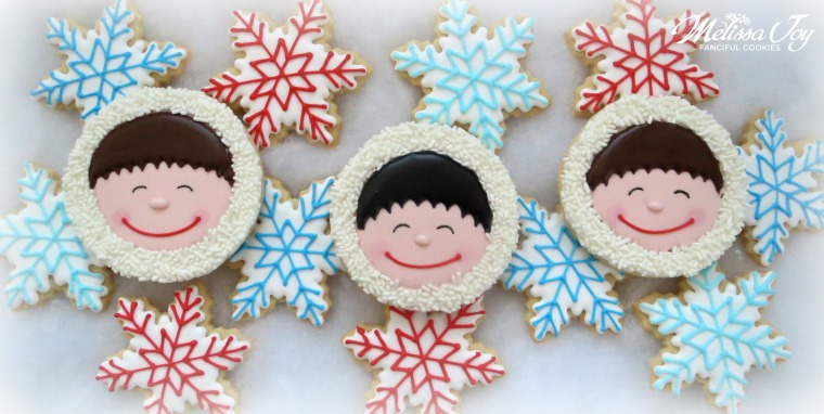 snow people by melissa joy cookies