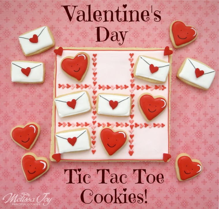 valentine cookies by melissa joy cookies